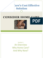 Cost Effective Home Care in Massachusetts