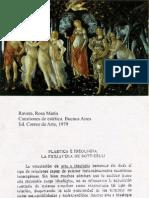 Ravera, Rosa M. - Plástica e Ideologia - La Primavera de Boticcelli