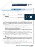 GPE - Plano Brasil Maior (PBM) - Contribuição Previdenciária sobre a Receita
