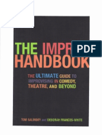 Tom Salinsky - The Improv Handbook (B&W)