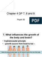 Chapter 4 GP 7, 8 and 9