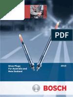 Bosch Glow Plug Catalog (Australia) 2010