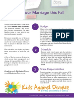 De-Stress Your Marriage This Fall