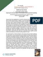 """de Kervenoael, R. & Aykac, D.S.O. (2008), """"Activating E-Bank Users"""