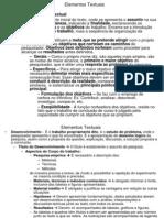 Elementos Textuais1