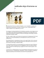 250 Mil Damnificados Deja El Invierno en Colombia