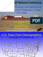A Protocol Preliminary Findings From Monitoring Seven Dairy Farm Digesters [Using the Protocol] in New York State