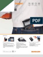 Mobile Printer SPP-R200II