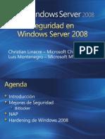 Windows 2008 Security