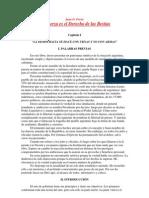 Perón - Las Fuerza es el derecho de las bestias