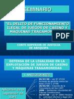Seminario Defensa de La Legalidad