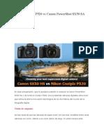 Nikon Coolpix P520 vs Canon PowerShot SX50 SA