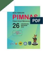 Buku Panduan Pimnas 2013 Update 2 Sept 2013