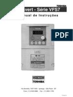 TOSVERT VF S7 [Fora de Linha] Manual VF S7 Em Portugues
