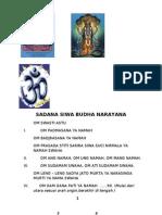 Sadana Siwa Budha Narayana