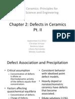 Chapter 2 Defect Associations