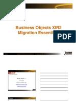 XIR2migration