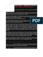 Comercio Internacional y Mercado de Divisas