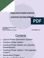 Vasilikos Power Station - A Seveso Establishement