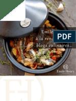 Emile Henry a La Rencontre Des Blogs Culinaires Edition 2011