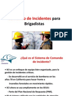 Comando de Incidentes Para Brigadistas