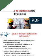 Comando de Incidentes Para Brigadistas