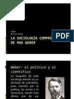 La sociología comprensiva de Max Weber - PPT