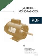 MOTORES DE INDUCCIÓN MONOFÁSICOS