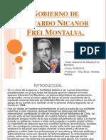 Gobierno de Eduardo Nicanor Frei Montalva Terminado