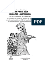 VERAZA JORGE - Lucha Por El Agua