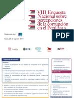 VIII Encuesta 2013