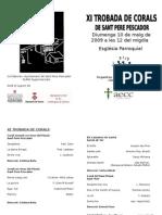 Program at Rob Ada Corals 09