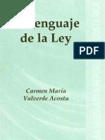 El Lenguaje de La Ley - Costarica