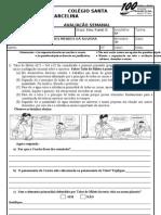 AGOSTO_AVALIAÇÃO SEMANAL FILOSOFIA_6º ANO