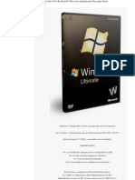 Windows 7 Ultimate SP1 x64bits Actualizado Hasta Julio 2013