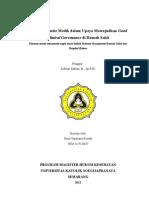 Komite Medis Dan Good Clinical Governance