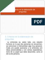 3. Criterios en la elaboración de preguntas (1)