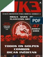 Ação Games 96-E Guia do Mortal Kombat 3