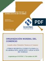 Estado y Prospectiva de La Normalizacion en Colombia