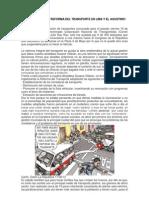 La Reforma Integral Del Transporte FS