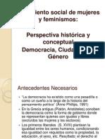 Democracia, Ciudadanía y Género