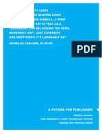 A Future for Publishing