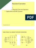 #32 Three-Phase Thyristor Converters + HVDC