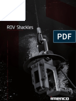 Imenco Rov Shackle Brochure safest sel engaing shackle in market Al Cohen