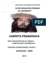 Documentos Gestion Anual y Unidades 2013
