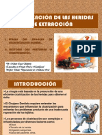 CICATRIZACIÓN DE LAS HERIDAS DE EXTRACCIÓN 2007