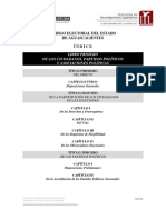 Código Electoral del Estado de Aguascalientes
