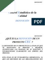 Contro Estadístico de Calida - Definicion, Estandard, Graficas