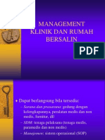 Manajemen Klinik Dan Rb