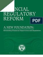 Treasury-Financial Regulatory Reform